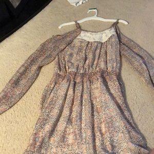 Xhilaration Bohemian Printed Spring Dress
